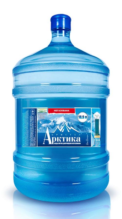 вода «Арктика» 18,9л бутилированная