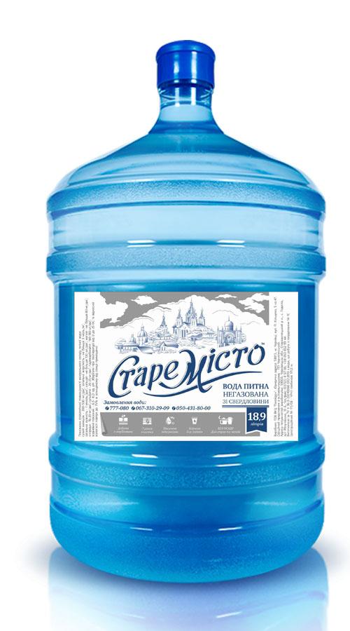 вода «Старе Місто» 18,9л бутилированная