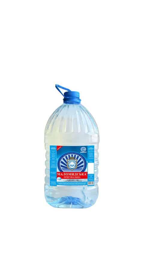 Вода «Маломидська» 6,0л
