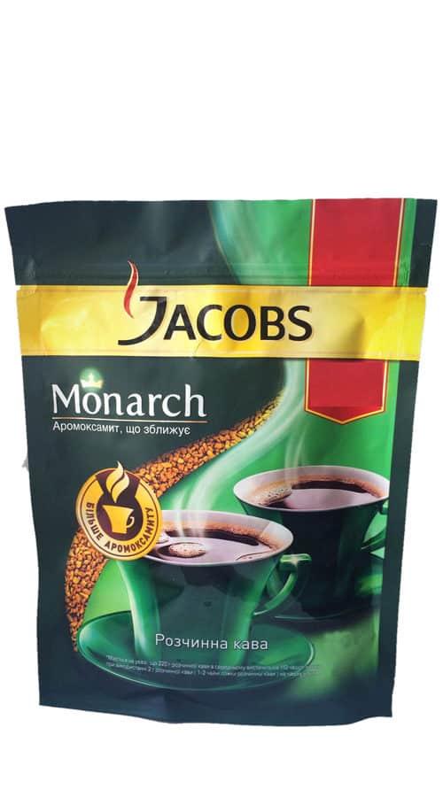 Кофе «Якобс Монарх» 130гр м/у